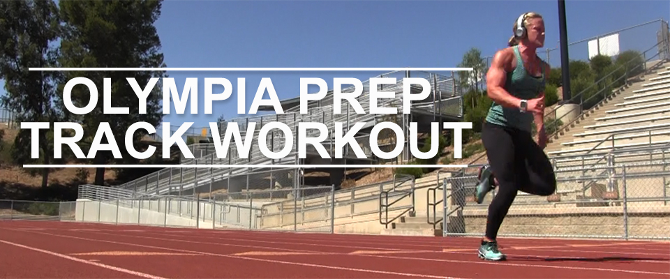 2016 Olympia Prep Track Workout