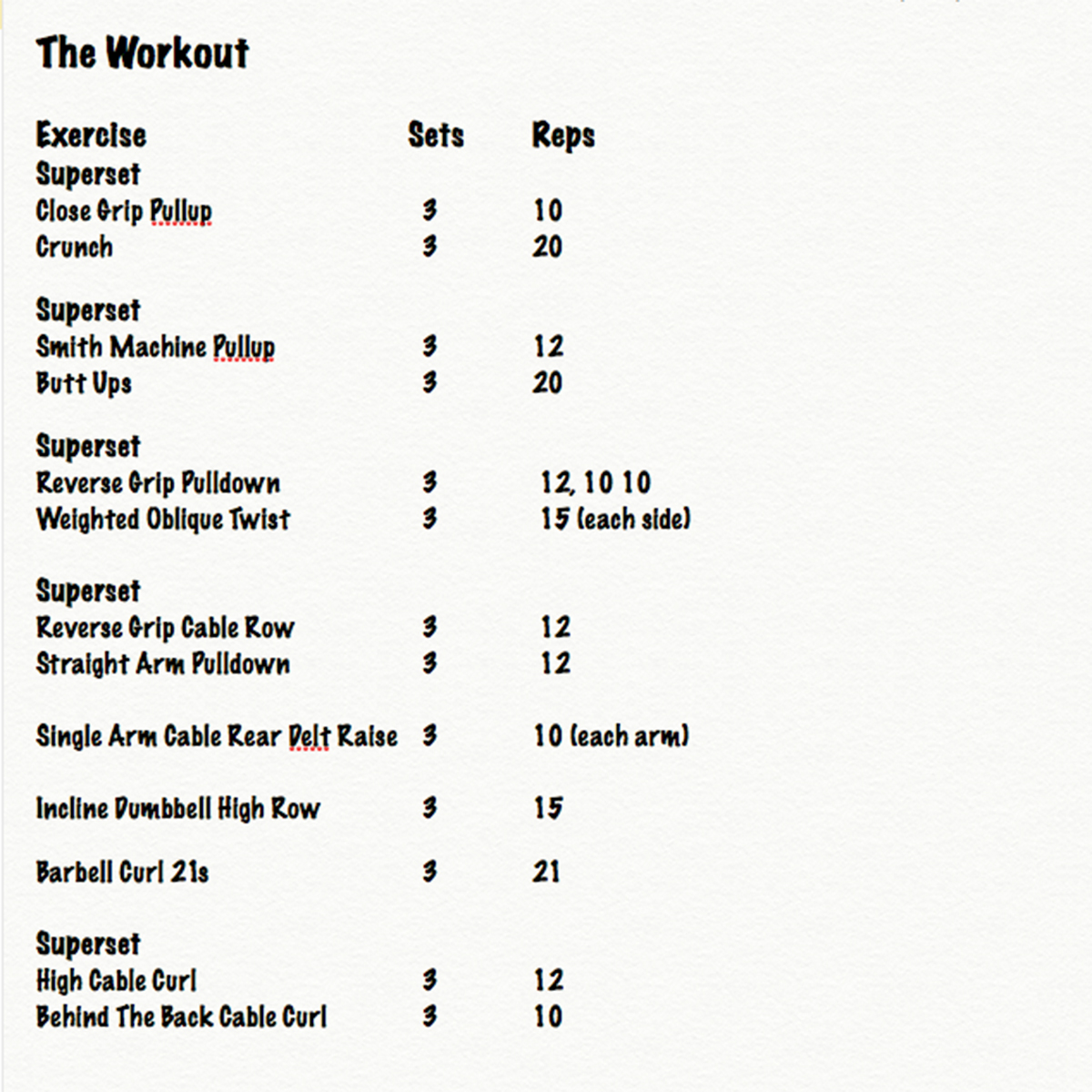supersetworkout