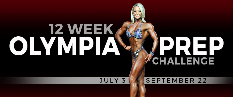 12 Week Olympia Prep Challenge!