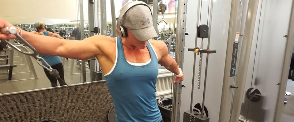 Video Training Journal: 2017 Olympia Prep Shoulder Triset Workout