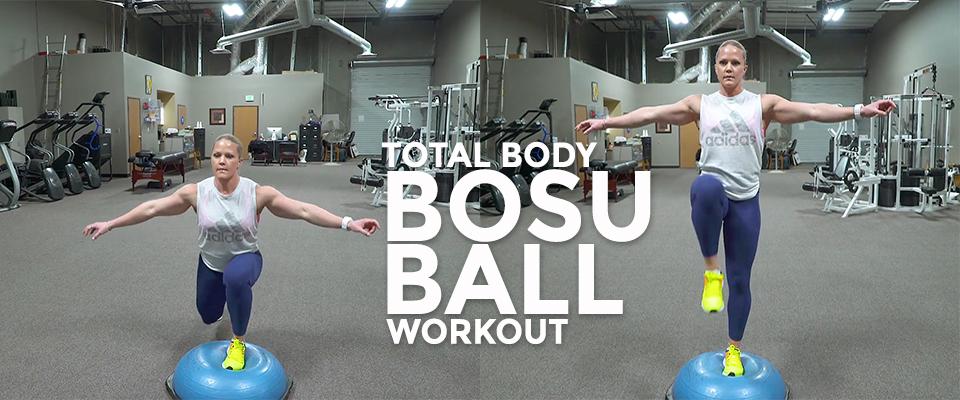 Real Workout: Total Body Bosu Ball Workout