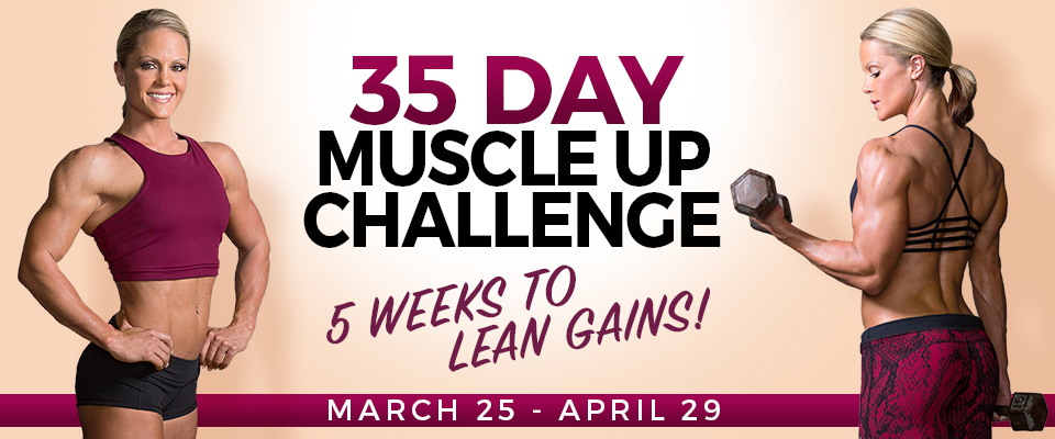 35 Day Muscle Up Challenge