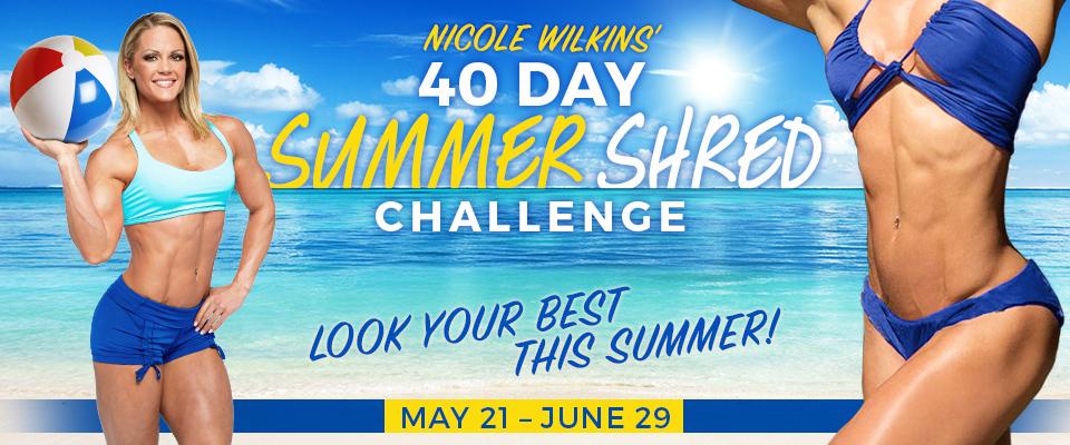 40 Day Summer Shred Challenge