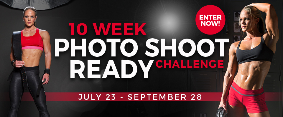 Enter My 10 Week Photo Shoot Ready Challenge!