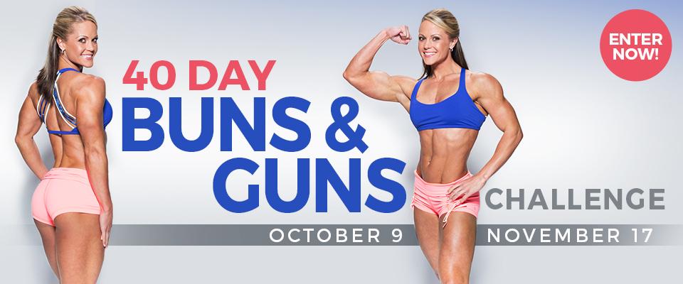 40 Day Buns and Guns Challenge
