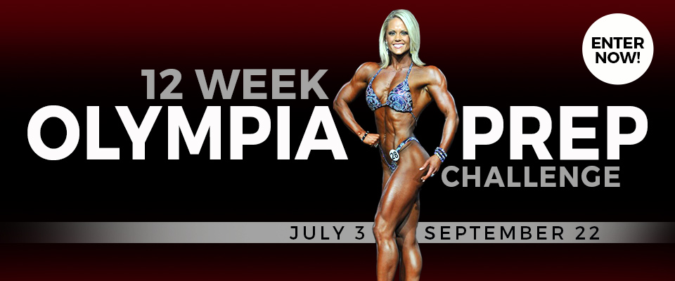 Olympia challenge - enter now
